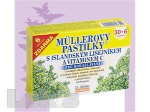 DR.MULLER pastilky s islandským lišejníkem 30+6ks