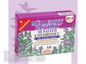 DR.MULLER pastilky se šalvějíi 30+6ks