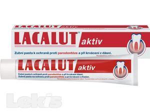 LACALUT zubní pasta AKTIV 75ml