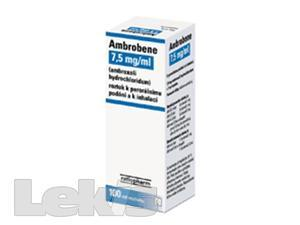 AMBROBENE 7.5MG/ML..sol 1x100ml