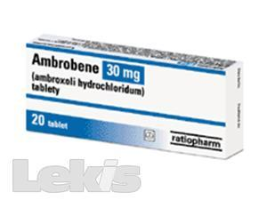 AMBROBENE 30 MG..tbl 20x30mg