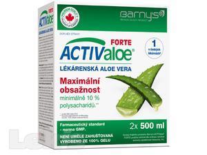 Barny`s Active Aloe vera Forte 500ml-dvojbalení