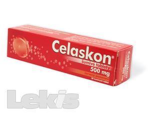 Celaskon červený pomeranč 20x500mg šumivé tablety