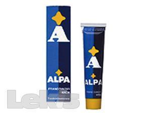 Alpa francovkový masážní krém 40g
