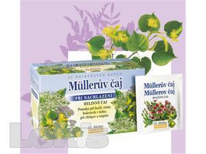DR.MULLER čaj při nachlazení n.s.20x1.5g (s květy černého bezu a lípy a dobromysli)