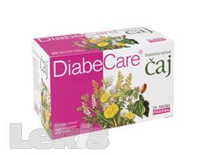 Diabecare diabetický bylinný čaj 20x1g (Dr.Müller)