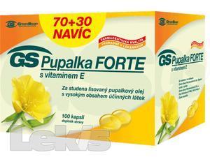 GS Pupalka Forte s vitaminem E cps.100