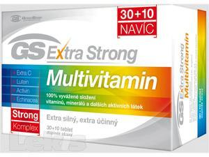 GS Extra Strong Multivitamín 30+10