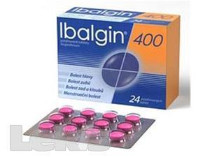 IBALGIN 400 POR TBL FLM 24X400MG