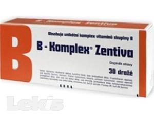 B-KOMPLEX LÉČIVA..drg 30 Zentiva