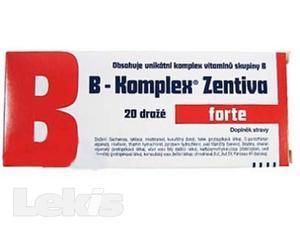 B-KOMPLEX FORTE LÉČIVA..drg 2x10(=20) Zentiva