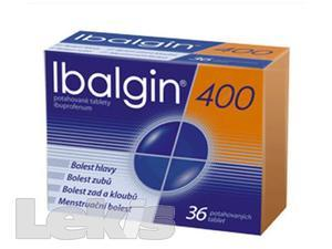 IBALGIN 400 POR TBL FLM 36X400MG