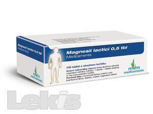 Magnesii Lactici 0.5 Tbl.MVM por.tbl.nob.100x0.5g GM