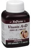 MedPharma Vitamin A+D (5000 I.U./400 I.U.) tob.107 - 1