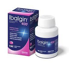 IBALGIN 400 400MG TBL FLM 100 - 1