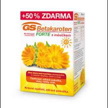 GS Betakaroten Forte s měsíčkem cps. 80+40 (dárek sprchový gel-do vyprodání zásob)
