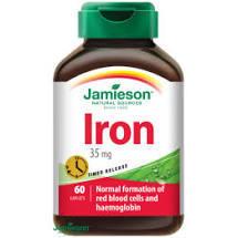 JAMIESON Železo 35 mg s postupným uvolňováním tbl.60