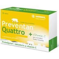 Farmax Preventan Quattro s citronovou příchutí tbl.12