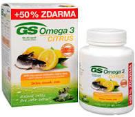 GS Omega 3 Citrus cps. 60 +30