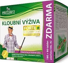 Priessnitz Kloubní výž. Forte+kolageny tbl.180+90