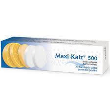MAXI-KALZ 500 500MG TBL EFF 20 - 1