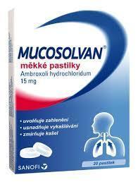 MUCOSOLVAN 15MG PAS MOL 20