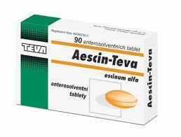 AESCIN-TEVA POR TBL ENT 90X20MG