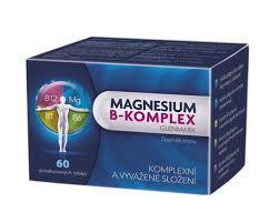Magnesium B-komplex Glenmark 60 potah.tablet GM