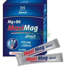 Zdrovit MaxiMag direct Mg+B6  20sáčků