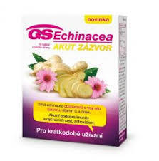 GS Echinacea Akut zázvor tbl. 15